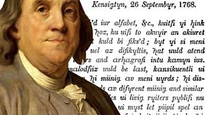 ridiculous history when benjamin franklin remade the alphabet