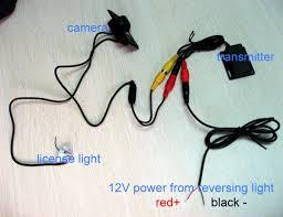 wireless reversing camera installation