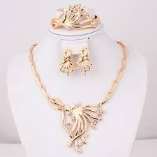wedding necklace designs 2017 dubai gold jewelry set wedding jewellery designs a1030 from
