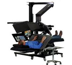 lay down computer desk my first thought when my office bought us standing desks funny
