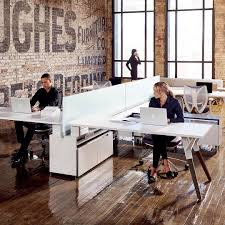 gray magazine u0027s modern glam office industrial office open
