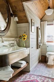 Gable Dormer Windows Kohler Brockway Bathroom Farmhouse With Brick Floor Gable Dormer
