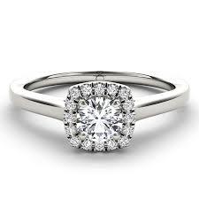 inel de logodna aur alb inel logodna cu diamant solitaire