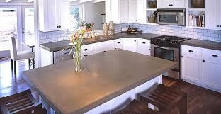 Concrete Kitchen Design Kitchen Concrete Countertops The Concrete Network