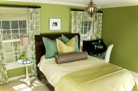 bed green color for bedroom