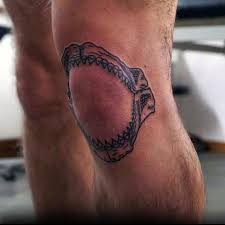 60 shark jaw tattoo designs for men a bite of ink ideas