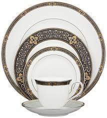 lenox vintage platinum banded bone china 5