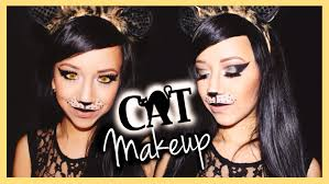 halloween cat eyes background halloween cat makeup tutorial naturallybellexo youtube