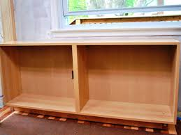 how to build a base for cabinets to sit on build a simple kitchen desk with hgtv hgtv