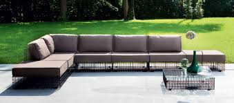 Modern Outdoor Sofa Astonishing Modern Outdoor Furniture Italian Designer Duluthhomeloan