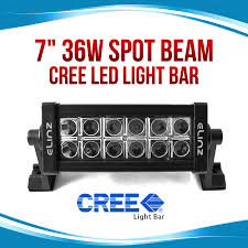 4x4 Led Light Bars by 7inch 36w Cree Led Work Light Bar 4x4 Offroad Lamp Spot Alloy 4wd
