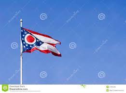 Ohios State Flag Ohio State Flag Stock Image Image Of American America 24292299