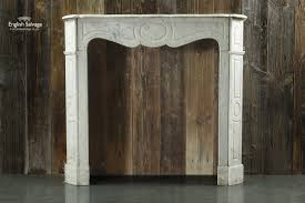 pompadour style french marble fireplace