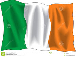 irish flag u0026 irish shamrock stock image image 5274511
