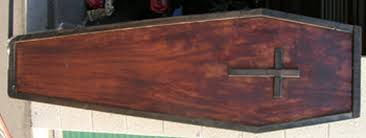 wooden coffin 20 dollar real wood coffin discussion forums costumes
