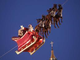santa tracker live follow father christmas u0027s journey around the