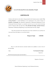 Sample Resume For Mechanical Production Engineer by Mechanical Engineering Project