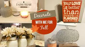 Tuesday Morning Home Decor Decorate With Me For Fall 2017 Fall Home Decor Lindsey