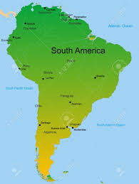Brazil On South America Map by Venezuela Location On The South America Map Highlighted Venezuela