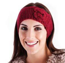 hair band womens wool knitted headband winter ski hair band