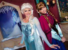 frozen brave anna elsa merida meet disneyland paris