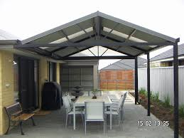 exteriors retty and simple open patio ideas with nice pergola