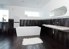 bathrooms black and white ideas stainless steel single bathtub