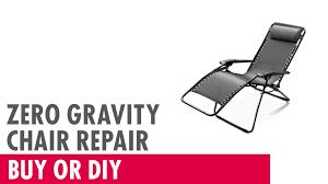 Antigravity Chairs Zero Gravity Chair Repair Buy Or Diy Youtube