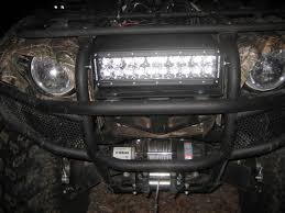 Four Wheeler Light Bar What Offroad Lights Do Y U0027all Like For The Front Bumper Yamaha