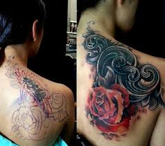 Tattoo Cover Up Ideas For Back Amazing Cover Up Tattoo U2022 U2022tattoos U0026 Piercings U2022 U2022 Pinterest