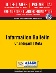 chandigarh information bulletin by allen career institute issuu
