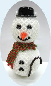 beaded ornaments free patterns free beaded