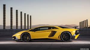 2016 Lamborghini Aventador - 2016 lamborghini aventador lp 750 4 superveloce yellow side hd