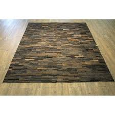 Patchwork Area Rug Made Patchwork Area Rug Made With Real Cowhide Hair