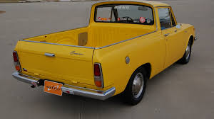 yellow toyota truck 1968 toyota corona truck t206 indianapolis 2009