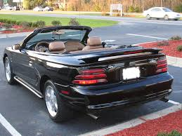 1995 Black Mustang 1996 Ford Mustang Convertible News Reviews Msrp Ratings With