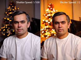 ambient light photography tutorial indoor portraits with a christmas tree in the background