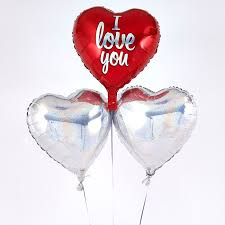 heart balloon bouquet i you balloon balloon bouquet inflated free