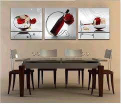 art for the dining room free shipper 3 piece wall art dining room wall paintings with