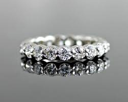 scalloped wedding band diamond eternity wedding band the classic gem