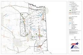 Atlanta County Map Maps Of Interest Netrma