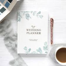 Wedding Planner Books Luxury Wedding Planner Book Engagement Gift For Brides