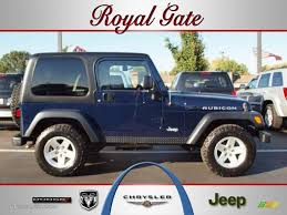 2006 midnight blue pearl jeep wrangler rubicon 4x4 38474392