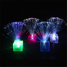colorful led optical fiber novelty lighting