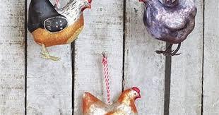 chicken tree ornaments modern design by moderndesign org