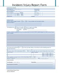 incident report register template incident report register template new best s of injury incident