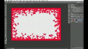 photoshop cs6 tutorial how to create custom borders lynda com