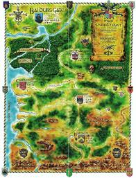Map Of Faerun Image Volos Map Jpg Forgotten Realms Wiki Fandom Powered By