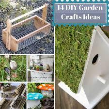 Gardening Craft Ideas 14 Diy Garden Crafts Ideas Home And Gardening Ideas