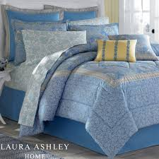 bedroom acharming laura ashley bedding in blue and floral pattern